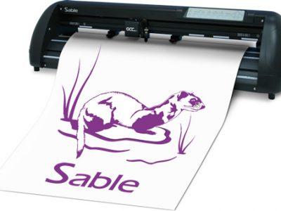 Máy cắt decal Sable